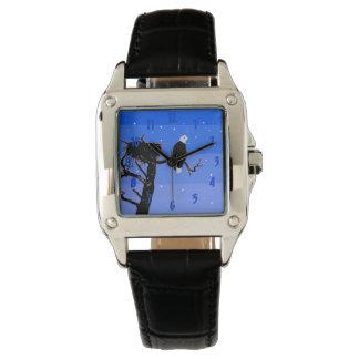 Relógio Águia americana no inverno