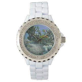 Relógio Amazing Vibrant Coral Reef