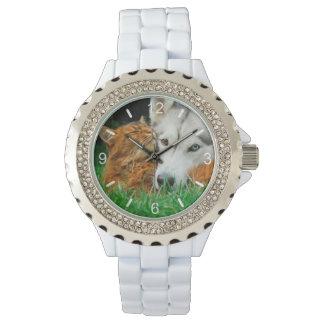 Relógio Amor bonito somaliano da aproximação dos amigos do