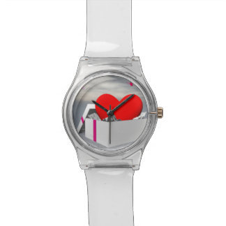 Relógio Amor como um presente - 3D rendem