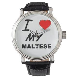 Relógio amor maltês