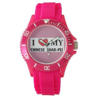 Relógio amor shar chinês