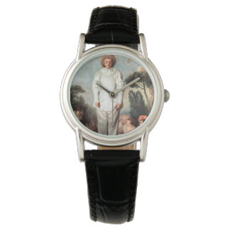 Relógio ANTOINE WATTEAU - Pierrot (Gilles) 1718