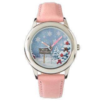 Relógio Arte do Natal - ilustrações do Natal
