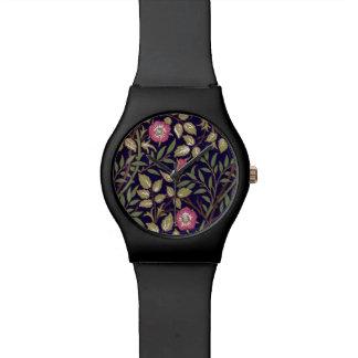Relogio Arte floral Nouveau do Briar doce de William