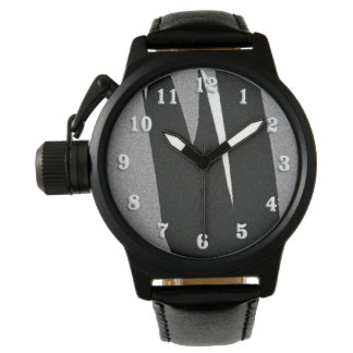 Relógio Arte preto e branco da forma
