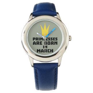 Relógio As princesas são em março Zhv17 nascidos