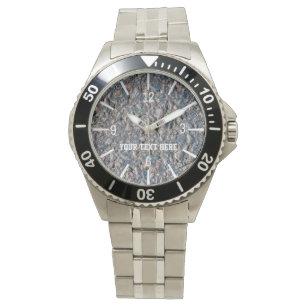 b00c5843ea1 Relógio Asfalto e seixos customizáveis