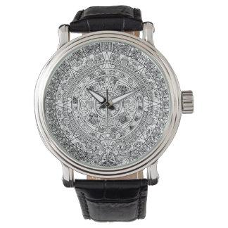 Relógio asteca do calendário