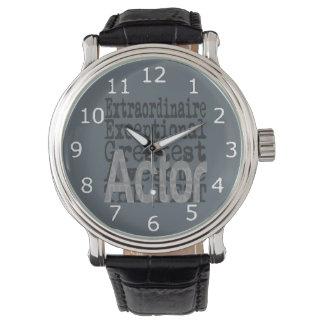Relógio Ator Extraordinaire