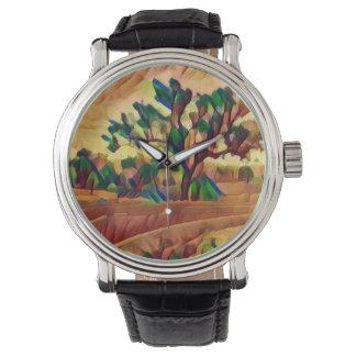 Relógio australiano da árvore do ocre