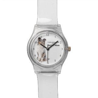 Relógio azul da mamã de Merle Sheltie