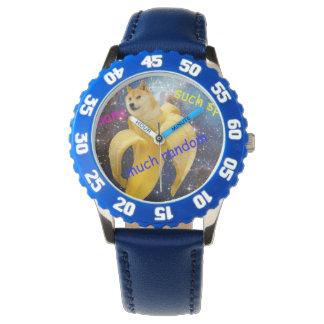Relógio banana   - doge - shibe - espaço - uau doge