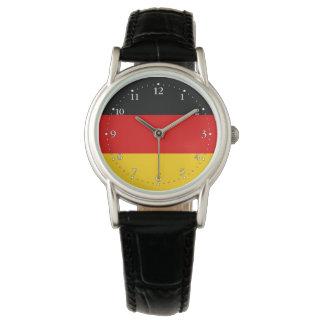 Relógio Bandeira alemão patriótica