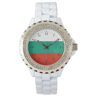 Relógio Bandeira búlgara patriótica