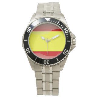 Relógio Bandeira da espanha