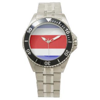 Relógio Bandeira de Costa Rica