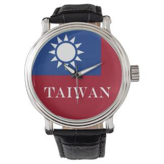 Relógio Bandeira de Formosa a República da China