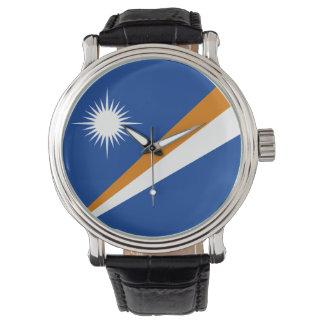 Relógio Bandeira de Marshall Islands