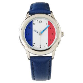 Relógio Bandeira francesa patriótica