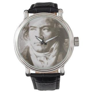 Relógio Beethoven no Sepia