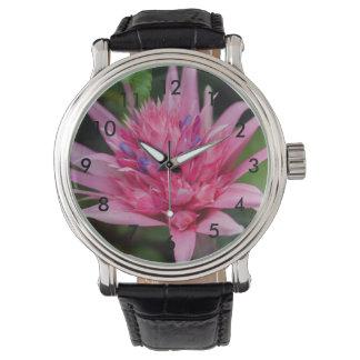 Relógio Beleza cor-de-rosa
