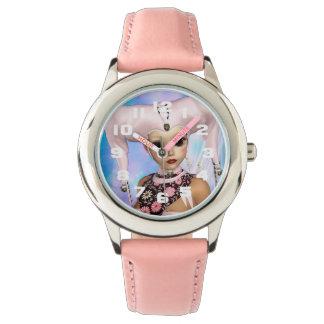 Relógio Boneca triste do Harlequin