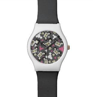 Relógio bonito do urso de panda de Blockimals dos
