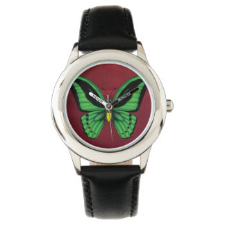 Relógio Borboleta de Birdwing dos montes de pedras