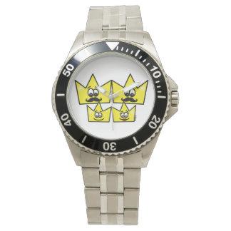 Relógio Bracelete de Aço Inoxidável - Família Gay