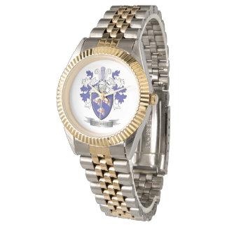 Relógio Brasão da crista da família de Forbes