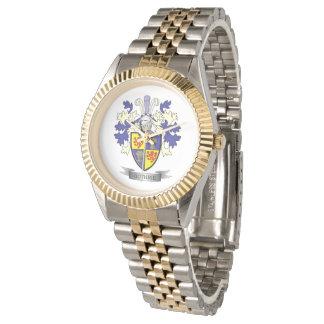 Relógio Brasão da crista da família de Guthrie