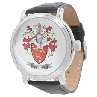 Relógio Brasão da crista da família de Harding