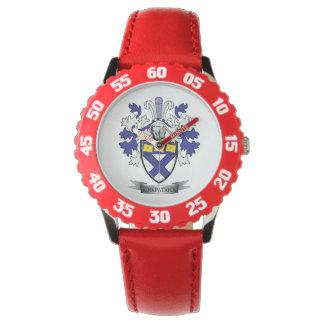 Relógio Brasão da crista da família de Kirkpatrick