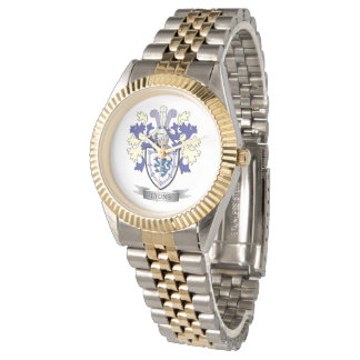 Relógio Brasão da crista da família de Lyons