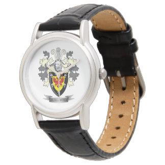 Relógio Brasão da crista da família de McAllister