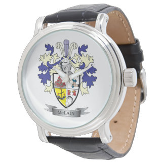 Relógio Brasão da crista da família de McLain