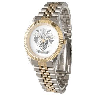 Relógio Brasão da crista da família de Owen