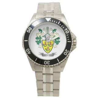 Relógio Brasão da crista da família do caçador