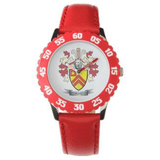 Relógio Brasão do papa Família Crista