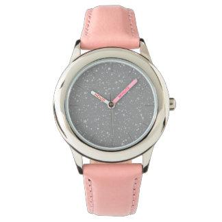 Relógio Brilho Stars4 - Prata