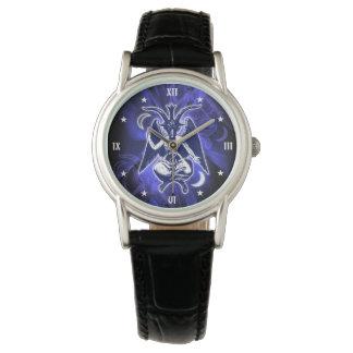 Relógio Cabra satânica de Baphomet
