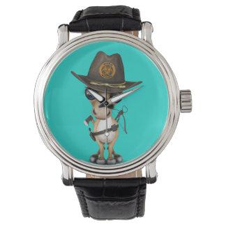 Relógio Caçador bonito do zombi do pônei