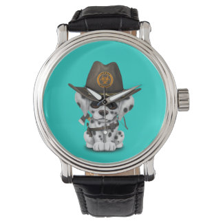 Relógio Caçador Dalmatian bonito do zombi do filhote de