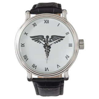 Relógio Caduceus médico pessoal