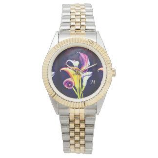 Relógio Calla Lillies