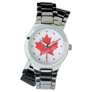 Relógio Canadá 150 anos de aniversário um--um-amável