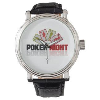 Relógio Casino do póquer
