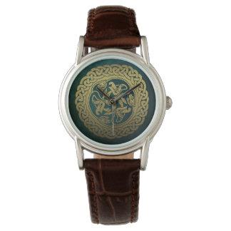 Relógio celta do dragão