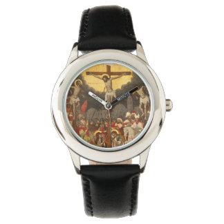 Relógio Cena 1711 da crucificação